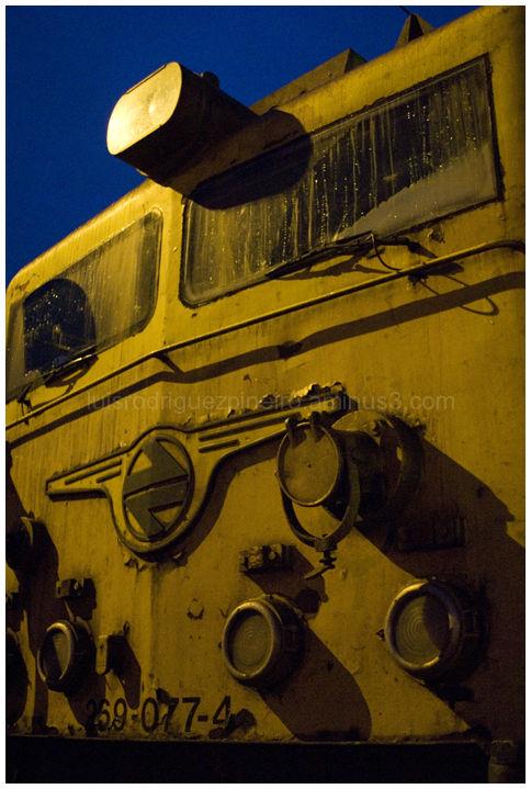 Locomotora en Monforte