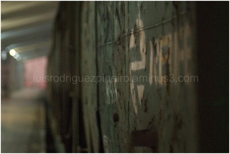 Vista de un vagón de Renfe