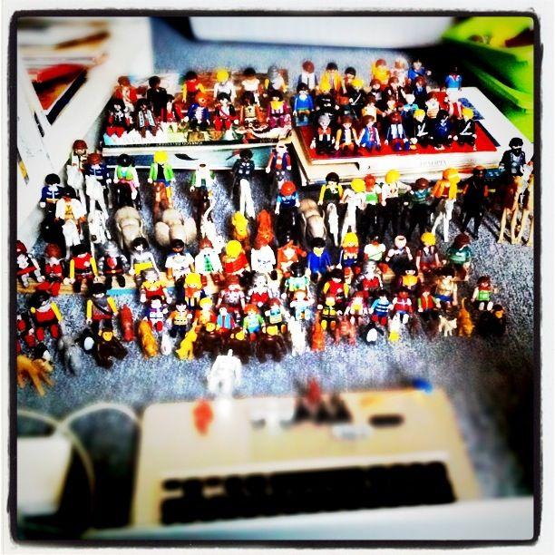 Playmobil spectators