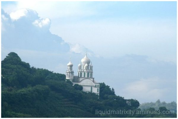 mission guatemala mountains mosque
