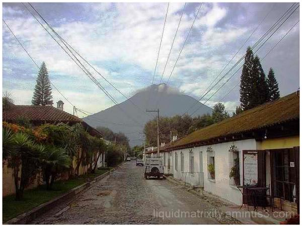 All roads lead to the volcano