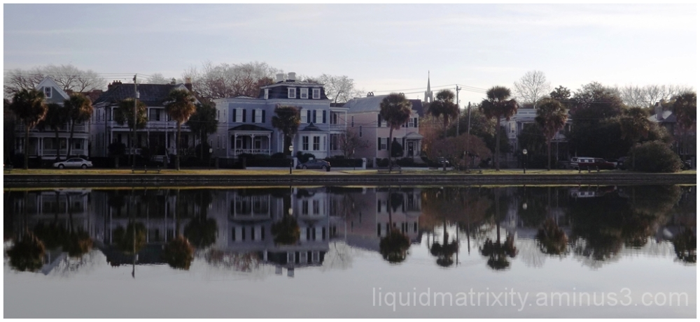 Colonial Lake Mirror Image