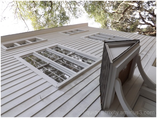 Country church windows