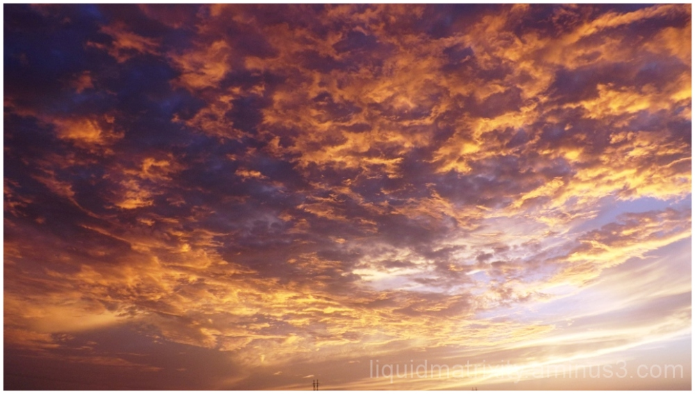 Umber Sunset