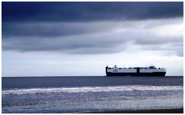 Tanker on the Horizon