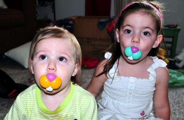 Jayden and Judah the bunnies~