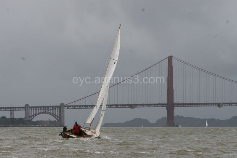 Boat under bridge -Barbara Miller Photography