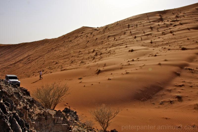 #the sand