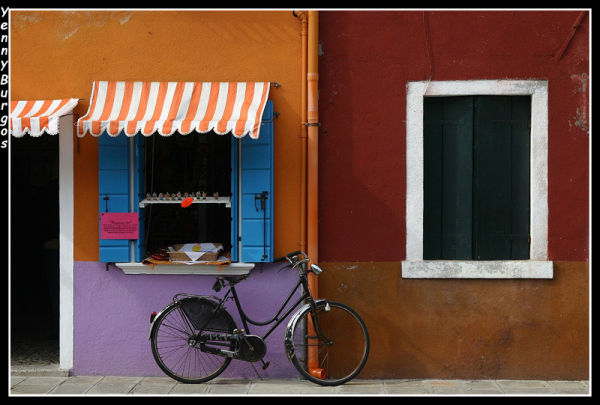 Bicycle in Burano