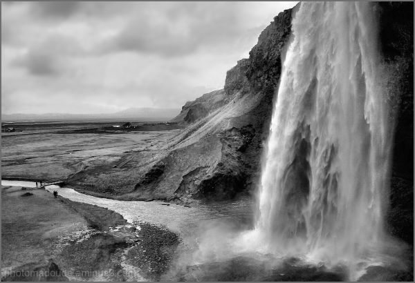 One of the most famous Icelandic waterfalls