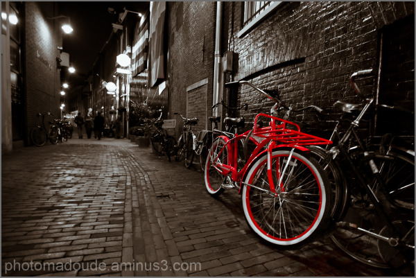 I want to ride this bicycle ! (B&W)