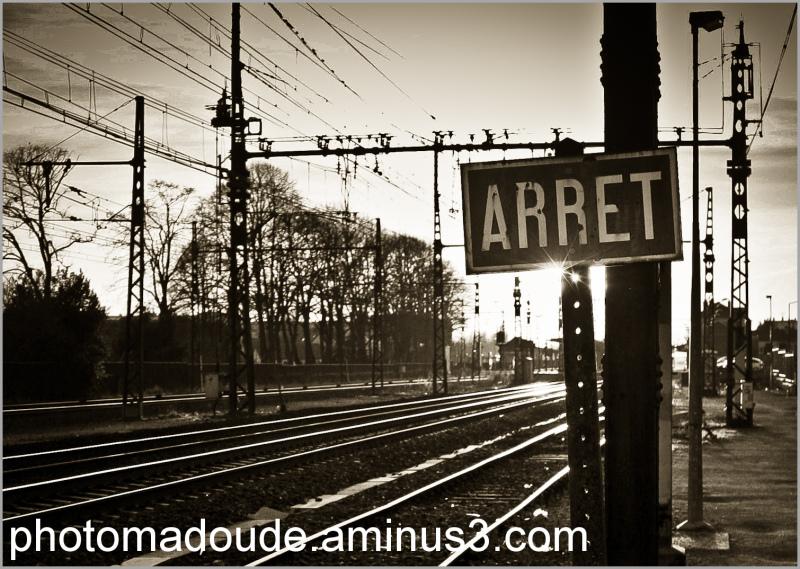 Arret en Gare