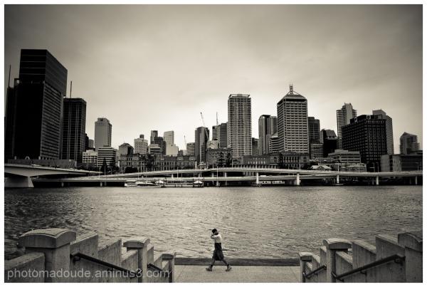 Descendre au centre ville ...de Brisbane