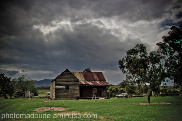hunter valley, australie, ruine