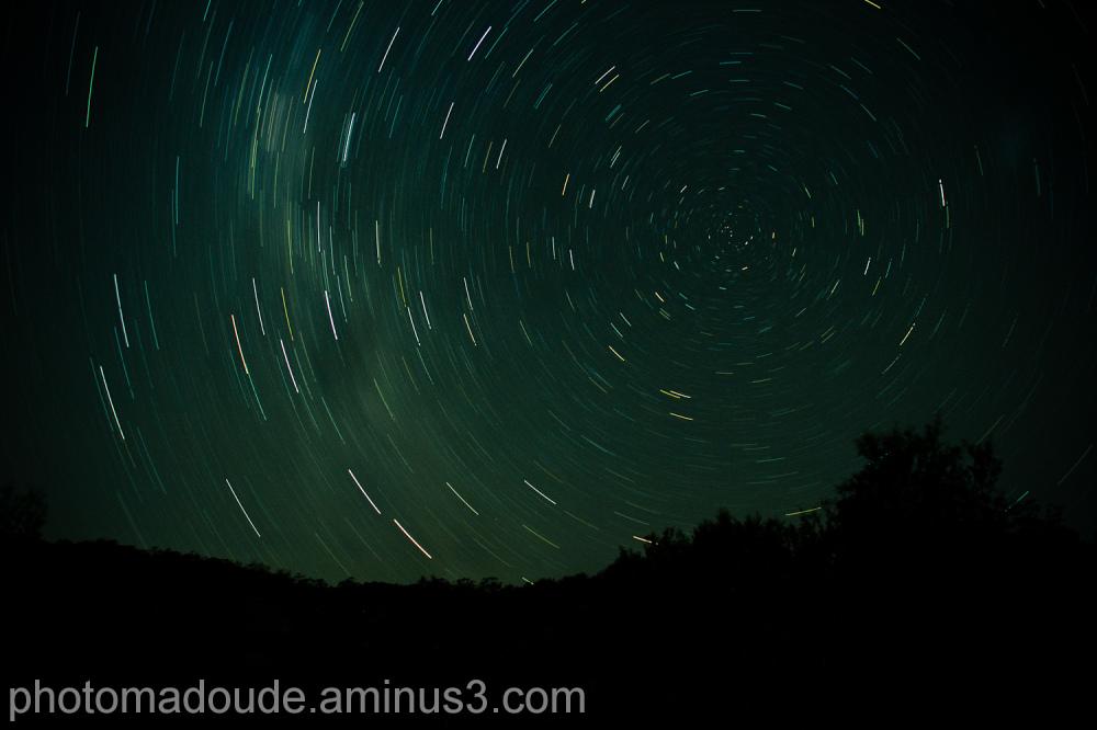 voie lactée, étoile, Australie, pause longue