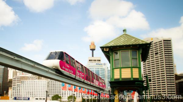 Monorail, Sydney, Australie