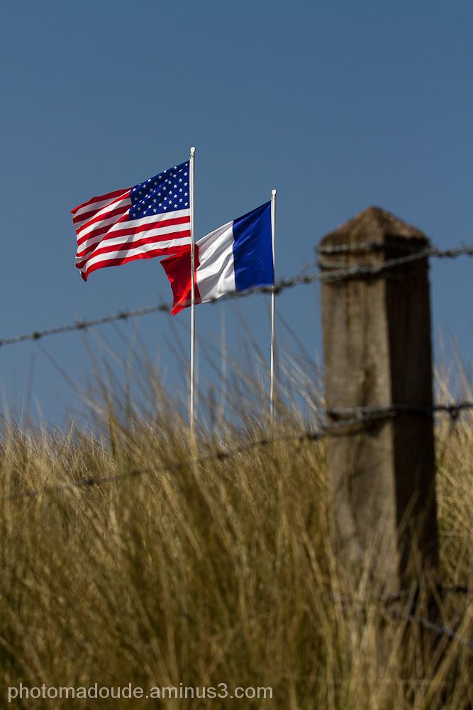 Sur les plages du débarquement en Normandie