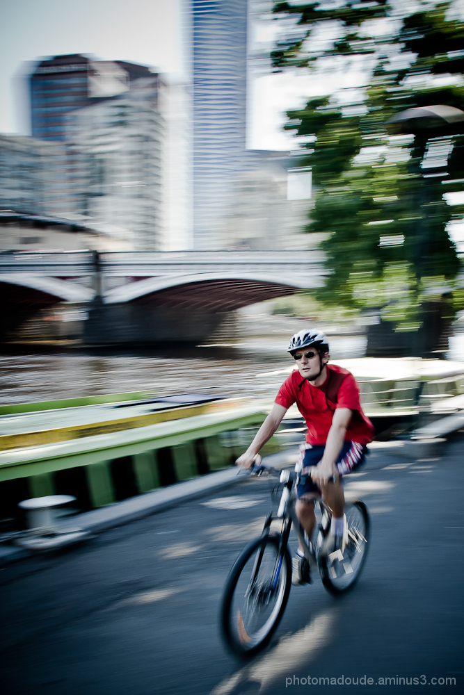 Cycling in Melbourne