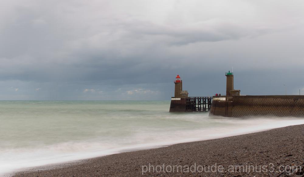 Fécamp, Normandie, Mer,