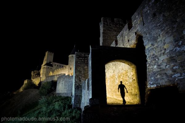 Balade nocturne dans la Cité de Carcassonne