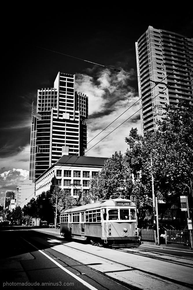australie melbourne tramway