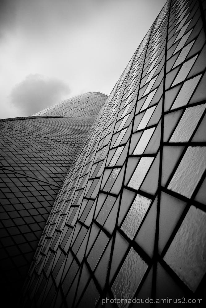 Détails du toit de l'opéra de Sydney