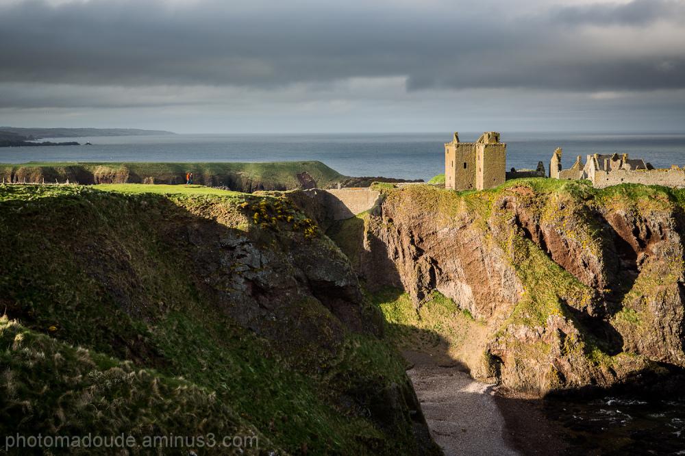 Visiting Dunnottar Castle