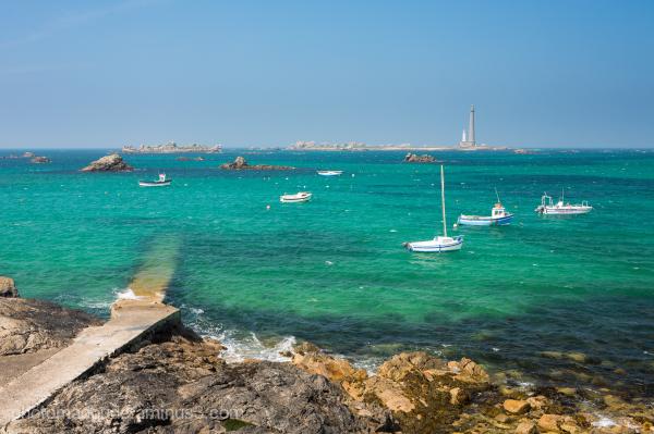 Mer Turquoise Sur l'Ile Vierge