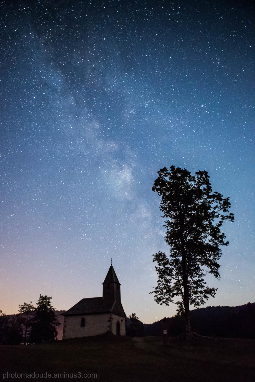 Voie Lactée  sur La Chapelle St-Laurent