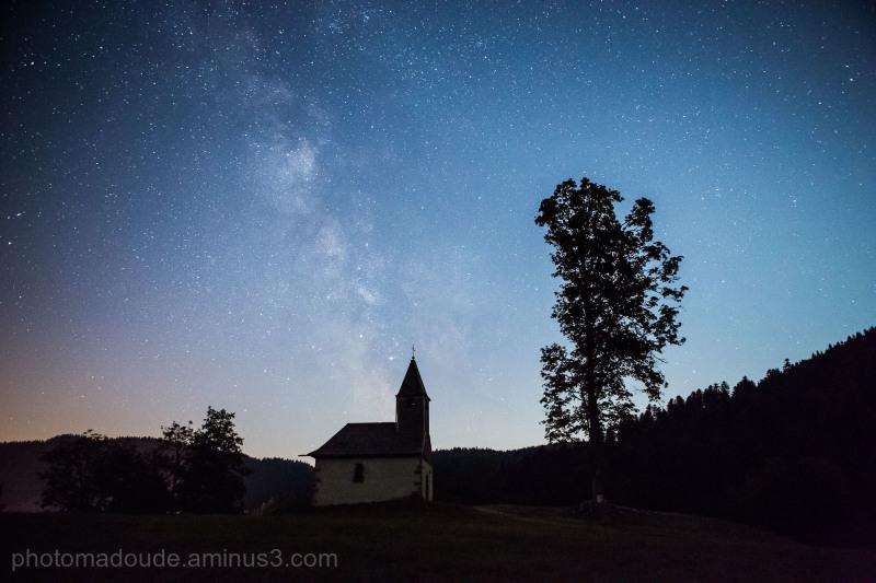 Voie Lactée  sur La Chapelle St-Laurent II