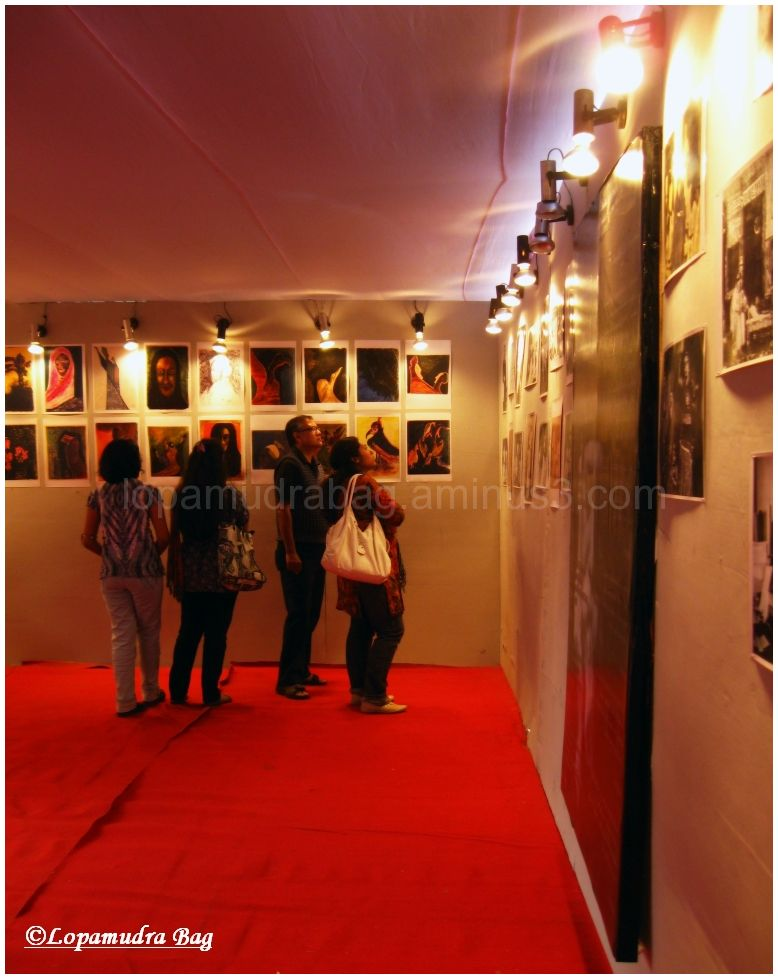Glimpse of an exhibiton
