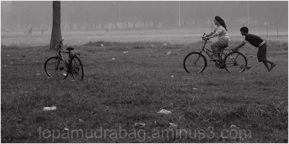 Cycling...
