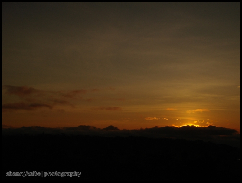 Just before the sunrise 2