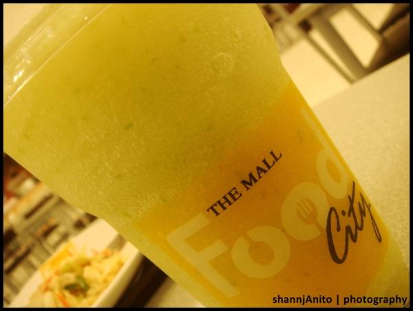 green apple fruit shake
