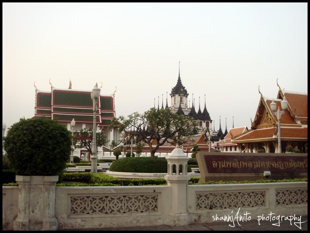A wat (temple) in Bangkok