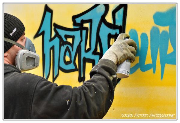 Graff in Harfleur