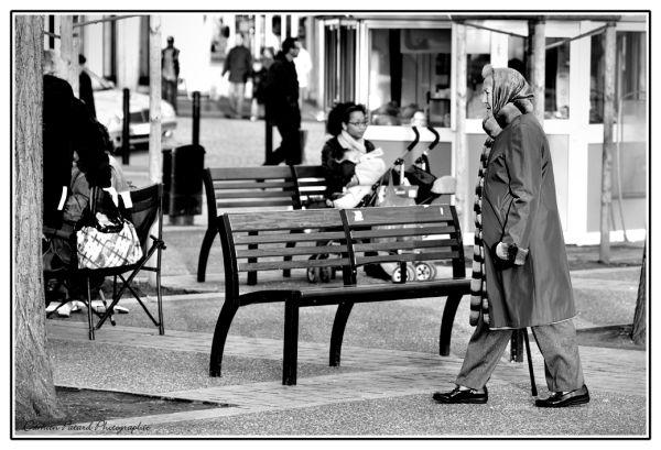 Place Perret, au Havre, un après-midi de janvier