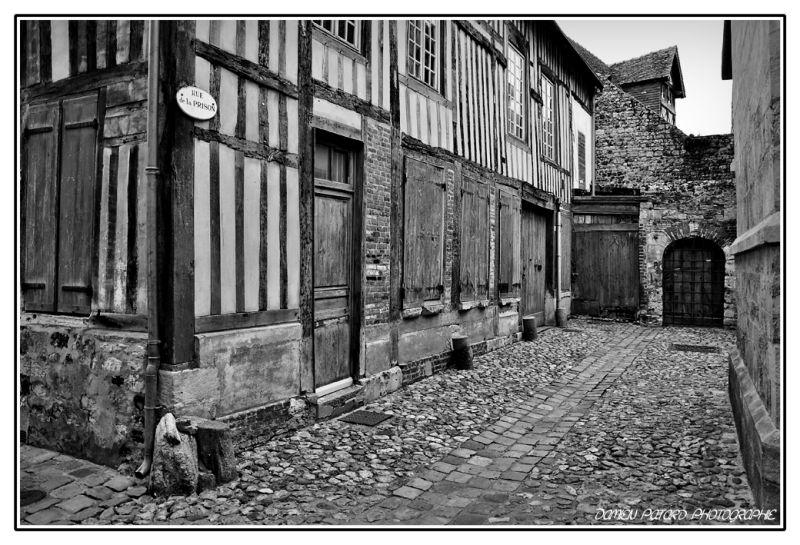 Rue de la Prison, à Honfleur