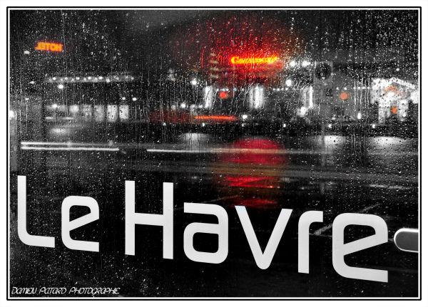 Le Havre, retour de la pluie...