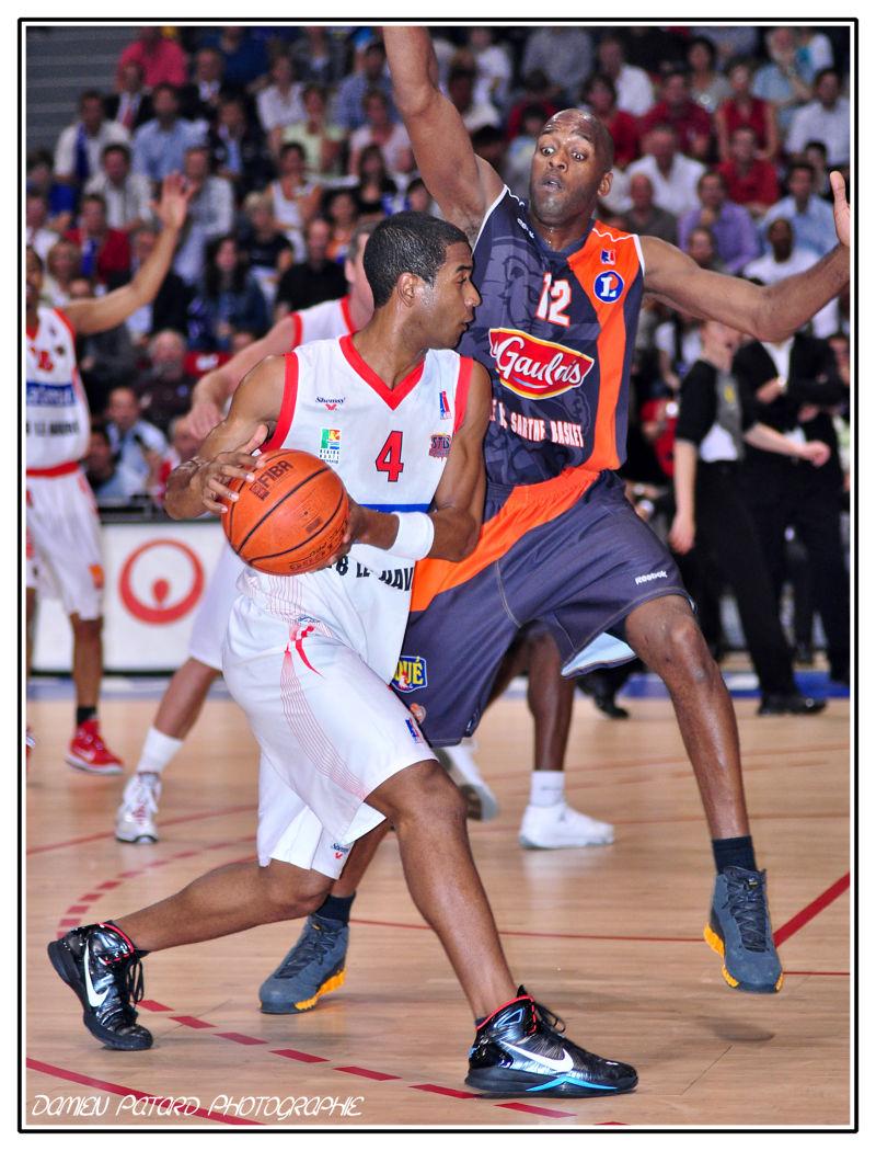 STB Saint-Thomas Basket Havre Mans LNB Championnat