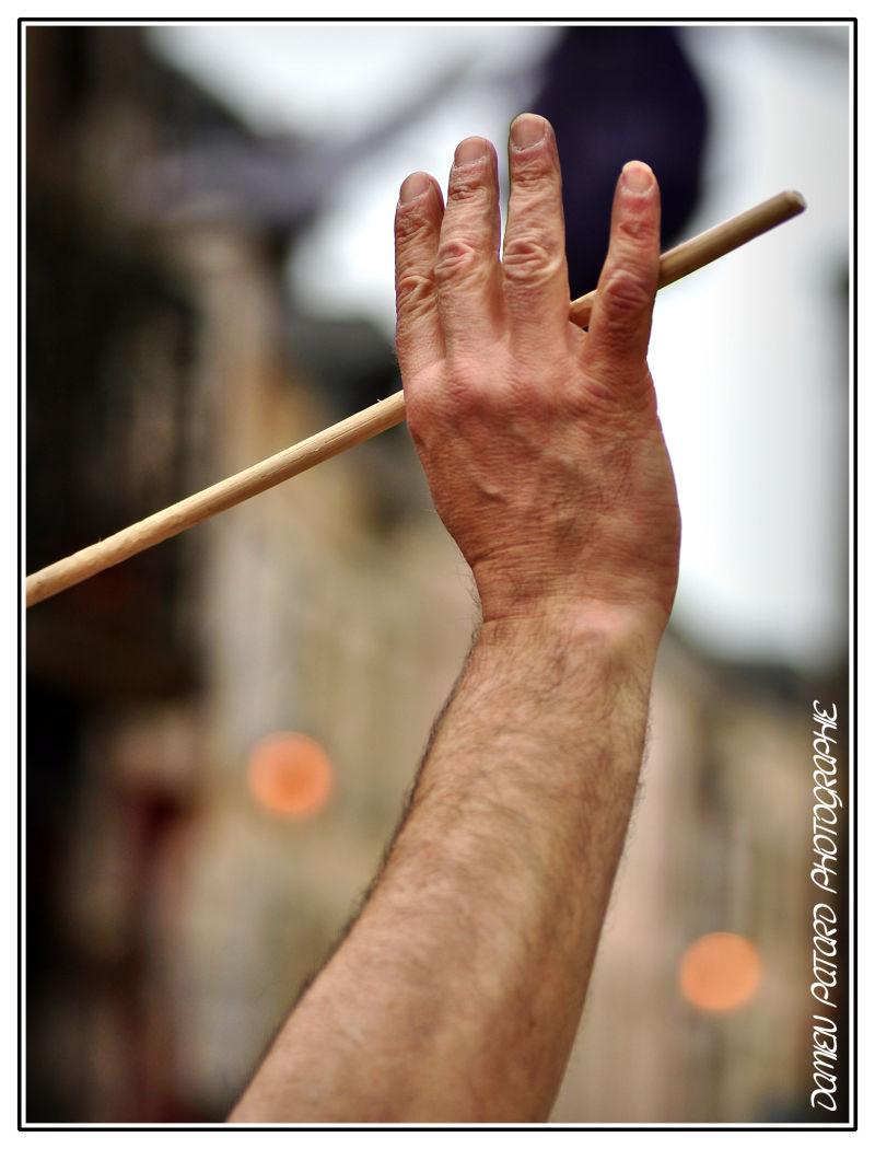 baguette chef orchestre Lébidondéol percussions