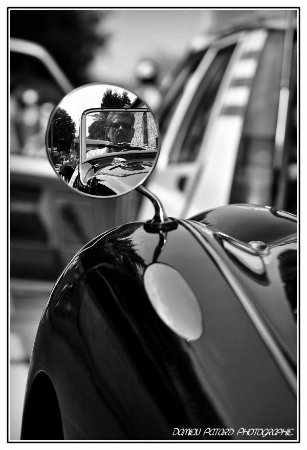 old car retro vieille voiture reflet