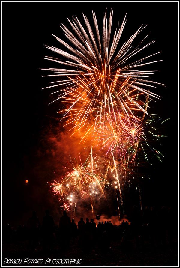 fête nationale feu d'artifice Havre Couturier