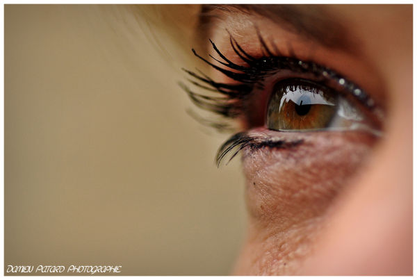 oeil maquillage iris pupille