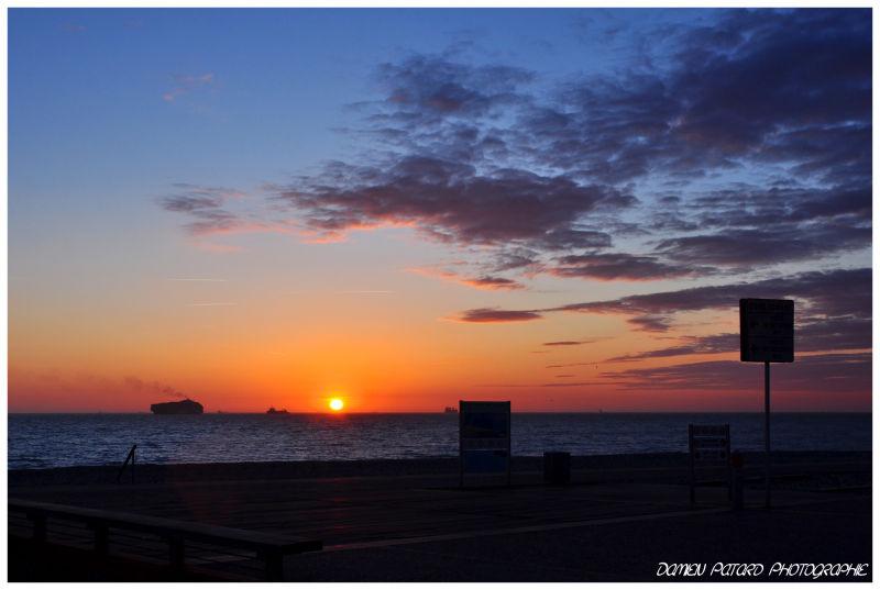 coucher soleil plage Le Havre LH sunshine sunset