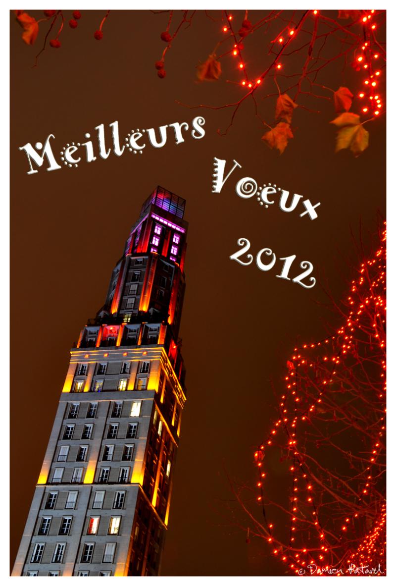 meilleurs voeux 2012 amiens perret tour