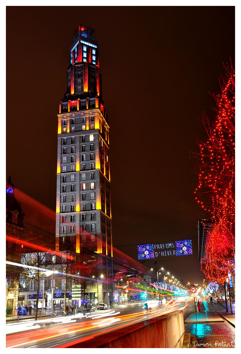Amiens tour perret illuminations parfums hiver