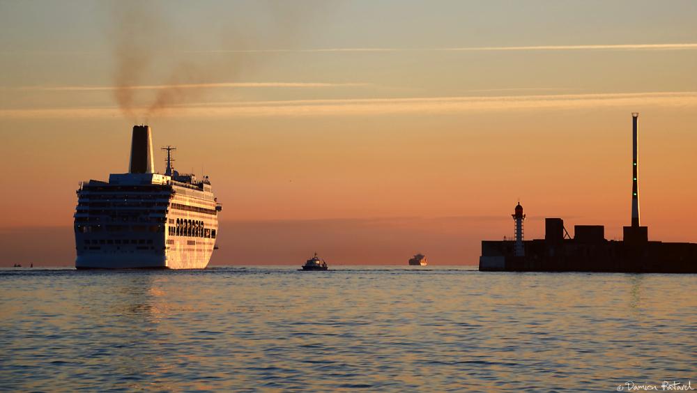P&O Cruise, Oriana, bateau, croisière, Le Havre