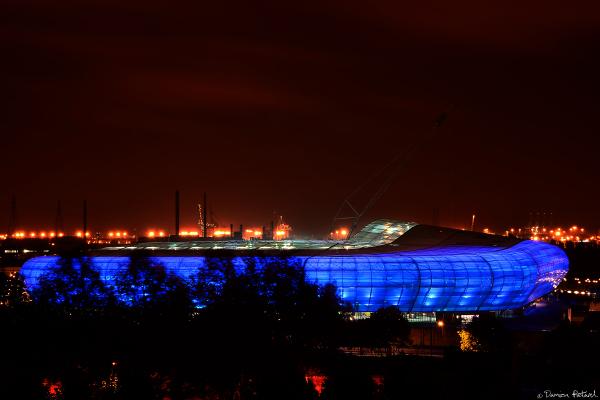Stade Océane, Le Havre, HAC, CODAH, inauguration