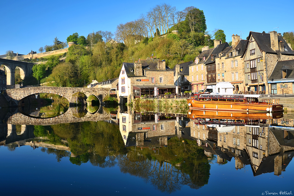 Dinan, Bretagne, remparts, ville médiévale, Donjon